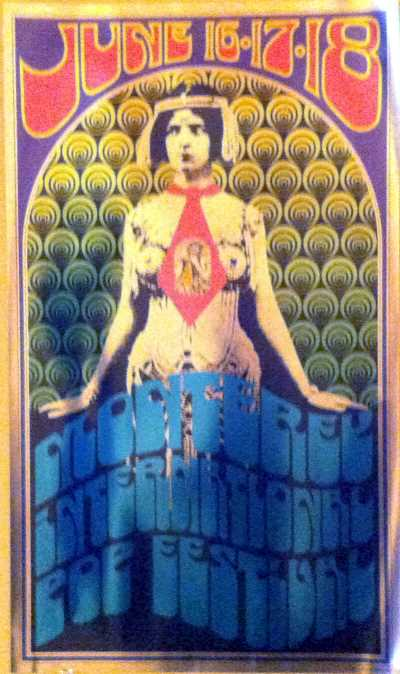Monterey Pop Fesitval Poster