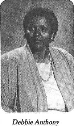 Debbie Anthony - 1986