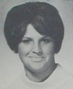 Judy Baer 1965 Yearbook Picture