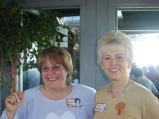 Bonnie Bailey and Carol Bradley