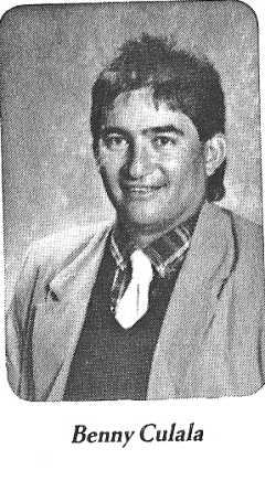 Ben Culala - 1986