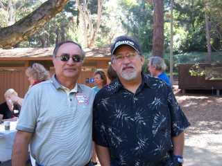 Ben Culala with Gene Van Scoy - 2006