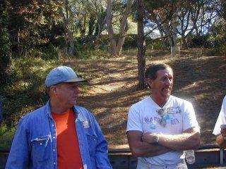 Greg Dorman and Bill Wyman - 2001