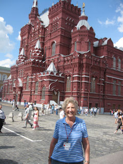 Rebecca Golf - in Red Square - 2011