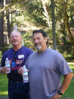 Wally Gottschalk and Rick Dreher - 2001
