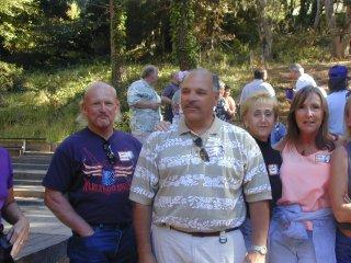 Wally Gottschalk, John Guerin, Paulette Ryan and Taffy Kezeli - 2001