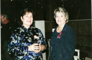 Kitty Kier and Donna Anderson - 2001