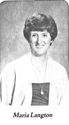 Maria Langton - 1986