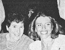 Maureen Lipp and Nurse Hall - 1986