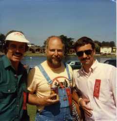 Jack McCornack, Tam McPartland, Jim Popkey - 1986