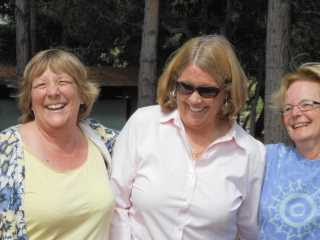 Karen Morness with Patsy Bedell and Holly Naylor - 2013