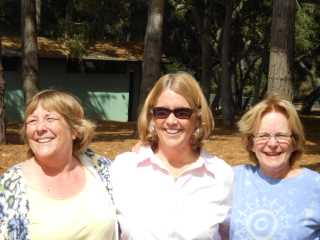 Holly Naylor with Karen Morness and Patsy Bedell- 2013