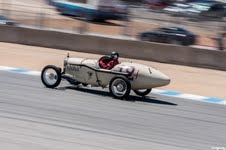 Jim Nix - driving at Monterey Historics auto race