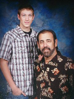Tim O'Neill and son Dugan - 2009