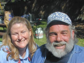 Patricia Oberst and Bill Wardle at 2001 Reunion