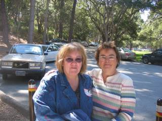 Maria Seda - 2006 Reunion with Bonnie Bailey