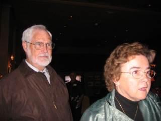 Maria Seda with husband Doug Brown at 2006 reunion