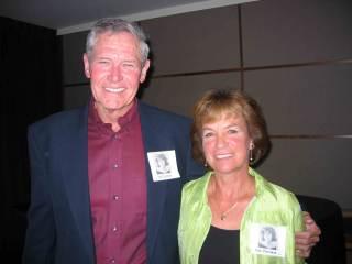 Susan Stutzman with Bill Carlson- 2016 reunion