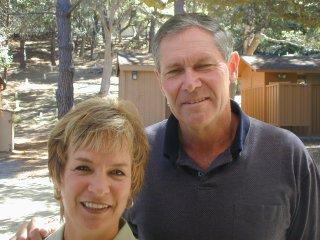 Sue with husband Bill Carlson at 2001 Reunion