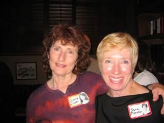 Sandi Thornton with Jeanne Draper - 2006