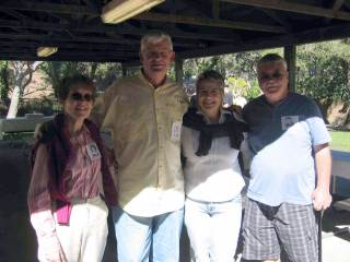 Mary Underwood with Marilyn Barnes Ron Tremper Dale Lewis - 2011
