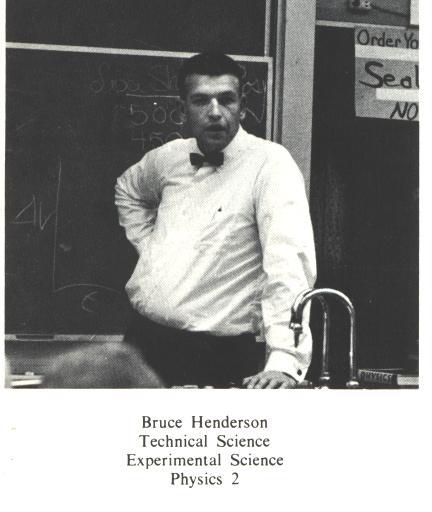 Bruce Henderson - 1968