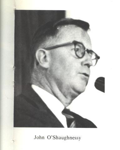 John O'Shaughnessy - 1968