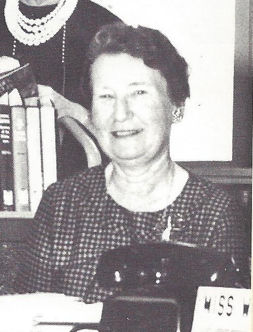 Frances Whitehead - 1963